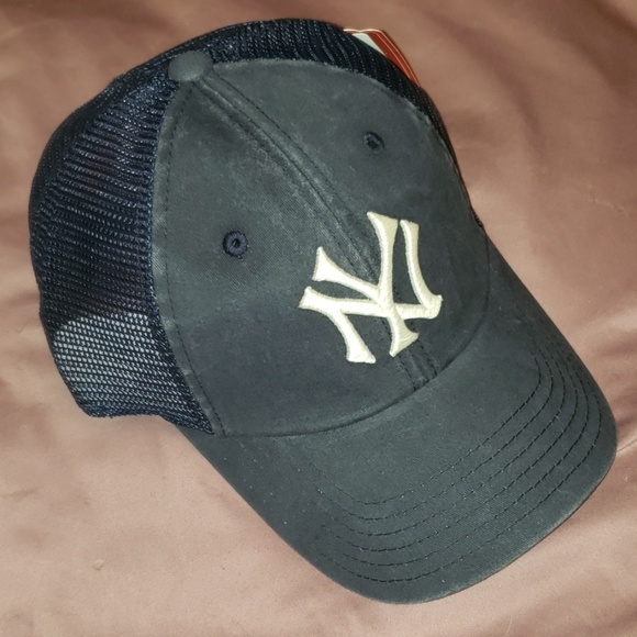 ce9bb86239a1c NY Yankees Mesh Baseball Hat